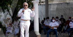 Líder nacional de la UNTRAC se reúne con sus transportistas en Calkiní