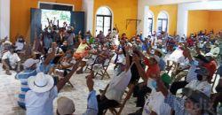 Ejidatarios de Calkiní aprueban interponer demanda a ex comisario ejidal por el presunto desvío de recursos del Tren Maya