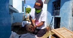 Limpieza de huesos en Pomuch, patrimonio cultural inmaterial de Campeche