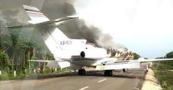 Ejército y Fuerza Aérea Mexicanos; aseguran aeronave, un vehículo y probable droga en el estado de Quintana Roo