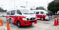 IET cumple con la verificación de Vehículos de servicio público en Calkiní