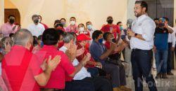 Precandidato priista reúne a líderes del municipio de Calkiní
